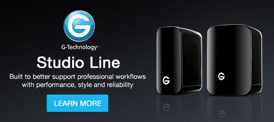 G-Technology Studio Line
