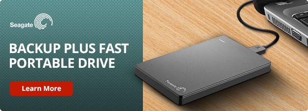 Seagate Back Up Plus Portable Drive