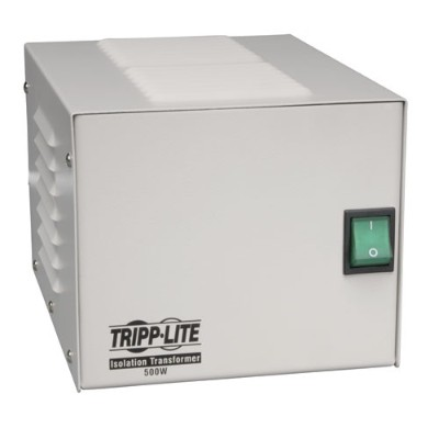 TrippLite IS500HG Isolator Series 120V 500W UL60601-1 Medical-Grade Isolation Transformer with 4 Hospital-Grade Outlets