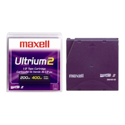 200GB/400GB LTO Ultrium 2 Data Cartridge