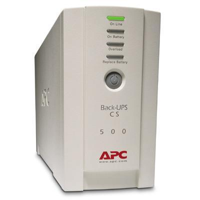 APC BK500EI Back-UPS CS 500 500VA/300W USB/Serial 230V INTERNATIONAL