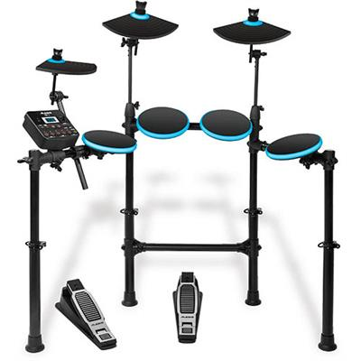 Alesis Dm Lite Kit Dm Lite Kit - 5 Piece Electronic Drumset With Portable Folding Rack