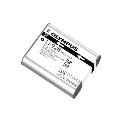 Olympus V6200660U000 LI-92B - Camera battery Li-Ion 1350 mAh - for Stylus SH-2 SH-3 Stylus Tough TG-4 TG-Tracker Stylus Traveller SH-2 Traveller SP-100