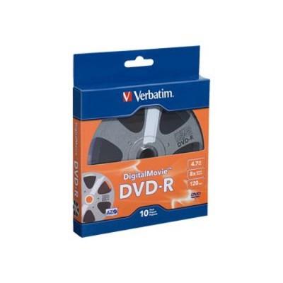 Verbatim 97946 DigitalMovie - 10 x DVD-R - 4.7 GB ( 120min ) 8x - blister