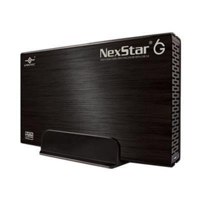 Vantec NST-366S3-BK NexStar 6G NST-366S3-BK - Storage enclosure - 3.5 - SATA 6Gb/s - 600 MBps - USB 3.0