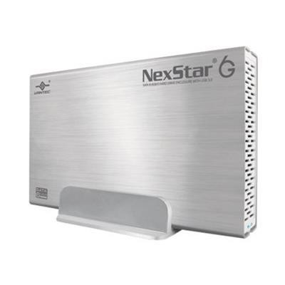 Vantec NST-366S3-SV NexStar 6G NST-366S3-SV - Storage enclosure - 3.5 - SATA 6Gb/s - 600 MBps - USB 3.0