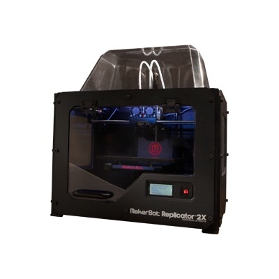 MakerBot Industries MP05927 Replicator 2X Full-Featured Experimental Desktop 3D Printer