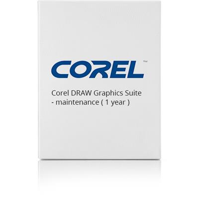 Corel LCCDGSMLMNT12 DRAW Graphics Suite - Maintenance (1 year) - 1 user - CTL - 5-50 licenses - Win - Multilingual