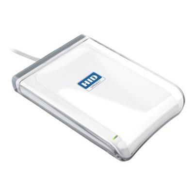 HID R53210229-1 OMNIKEY 5321 CR USB V2 - SMART card reader - USB - 13.56 MHz - white