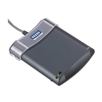 HID R53210238-2 OMNIKEY 5321 CL USB - SMART card reader - USB 2.0 - 13.56 MHz - dark gray