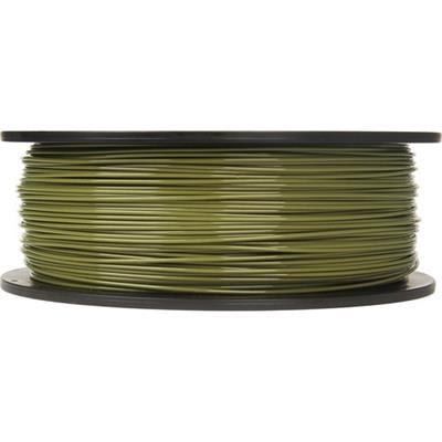 MakerBot Industries MP06101 1.75mm PLA Filament Large Spool  2 lb - Army Green