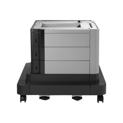 HP Inc. CZ263A Paper Feeder and Stand - Printer base with media feeder - 2500 sheets in 3 tray(s) - for LaserJet Enterprise MFP M680  LaserJet Enterprise Flow M