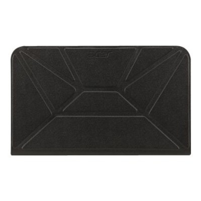 Acer NP.BAG1A.029 Crunch Cover - Protective cover for tablet - polyurethane - ego black - for ICONIA A1-830-1479  A1-830-1838