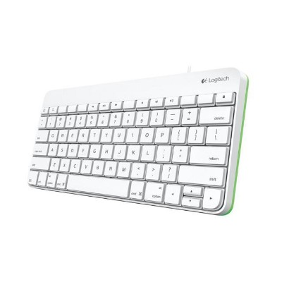 Logitech 920-006341 Keyboard - Apple Lighting connector - English - for Apple iPad (3rd generation)  iPad 1  2  iPad mini  iPad with Retina display (4th generat