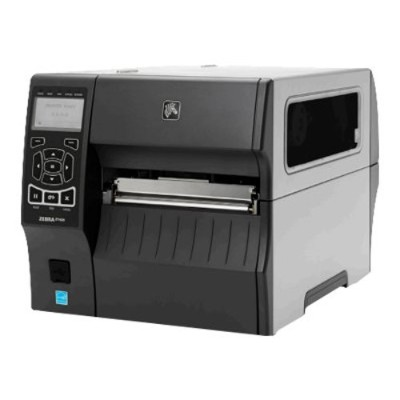 Zebra Tech ZT42063-T410000Z ZT400 Series ZT420 - Label printer - thermal transfer - Roll (6.75 in) - 300 dpi - up to 720.5 inch/min - USB 2.0  LAN  serial  USB