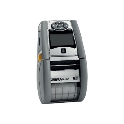 Zebra Tech QH2-AUNA0M00-00 QLn 220 - Healthcare - label printer - thermal paper - Roll (2.16 in) - 203 dpi - up to 240.9 inch/min - USB  serial  Wi-Fi(n)  NFC