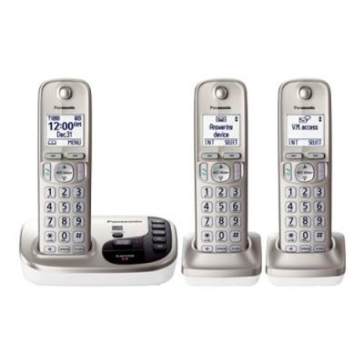 Click here for Panasonic KX-TGD223N KX-TGD223N - Cordless phone -... prices