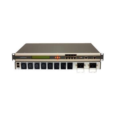 Lantronix SLB8824KIT-EU SecureLinx Remote Branch Office Manager - Console server - 8 ports - 10Mb LAN  100Mb LAN  RS-232 - analog ports: 1 - AC 220 V - 1U - rac