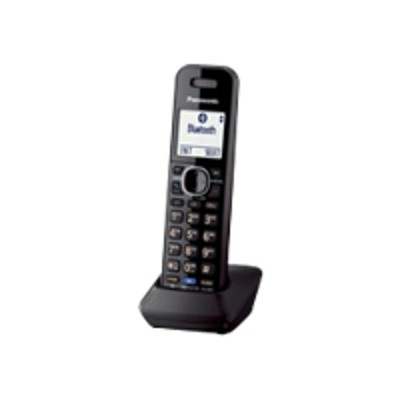 Panasonic KX-TGA950B KX-TGA950B - Cordless extension handset with caller ID/call waiting - DECT 6.0 - 2-line operation - black - for  KX-TG9541  KX-TG9542