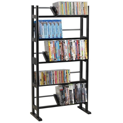 Atlantic 35535601 Element - Media storage - metal wood - espresso DVD CD BD-ROM - floor-standing