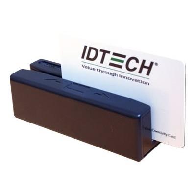ID TECH IDRE-334133B SecureMag Encrypted MagStripe Reader - Magnetic card reader ( Tracks 1  2 & 3 ) - USB  keyboard wedge - black