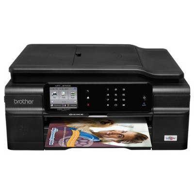 Brother MFCJ870DW Compact Inkjet All-in-One with Enhanced Connectivity Options