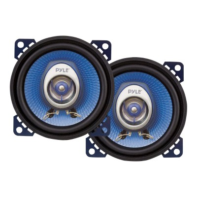 Pyle PL42BL 4'' 180 Watt Two-Way Speakers - Pair