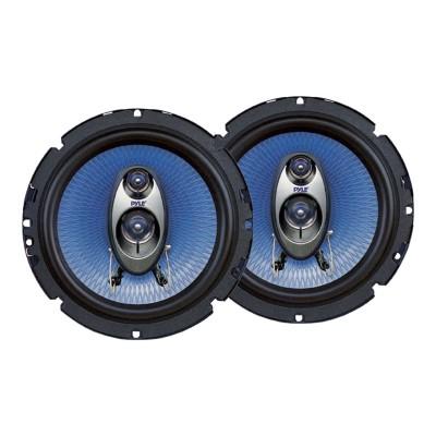 Pyle PL63BL 6.5'' 360 Watt Three-Way Speakers - Pair