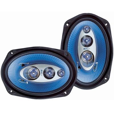 Pyle PL6984BL 6''x 9'' 400 Watt Four-Way Speakers - Pair