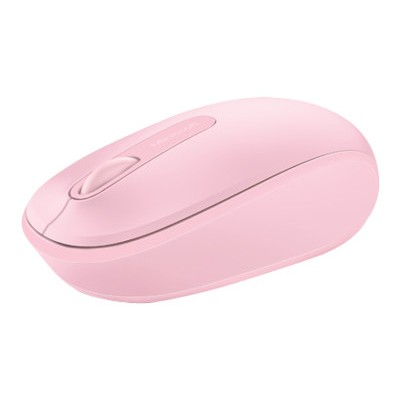 Microsoft U7Z 00021 Wireless Mobile Mouse 1850 Mouse optical 3 buttons wireless 2.4 GHz USB wireless receiver light orchid