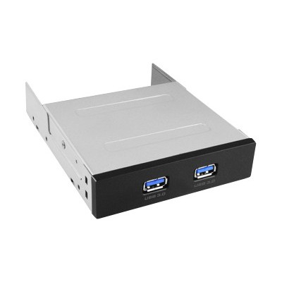 Vantec UGT-IH203 UGT-IH203 2-Port USB 3.0 Front Panel - Storage bay ports panel - USB 3.0 x 2