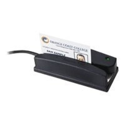 ID TECH WCR3227-712 Omni 3227 Heavy Duty Slot Reader - Magnetic card reader ( Tracks 1 & 2 ) - RS-232