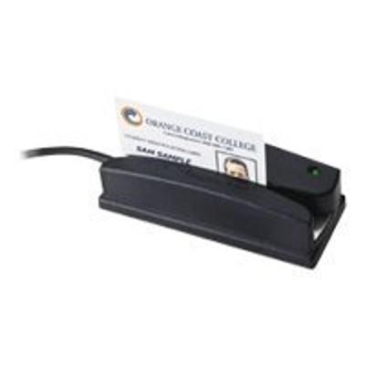 ID TECH WCR3297-600C Omni 3297 Heavy Duty Slot Reader - Barcode scanner - desktop - 65 inch / sec - SIA 26-bit Wiegand
