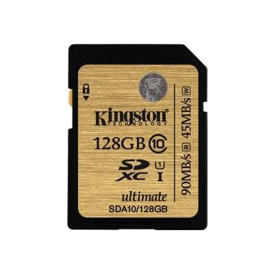 Kingston SDA10/128GB 128GB SDXC Class 10 UHS-I Ultimate Flash Card