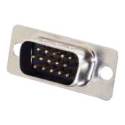 Cables To Go 01583 HD15 Male Cup D-Sub Connector - VGA connector - HD-15 (M) - silver