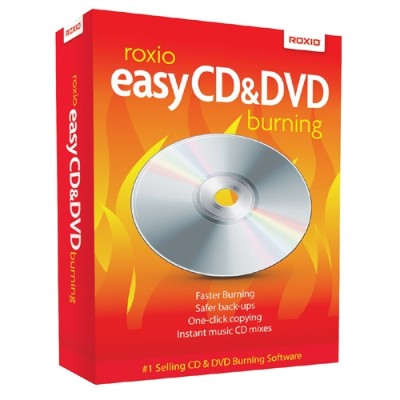 Corel 249000 Roxio Easy CD & DVD Burning 2011