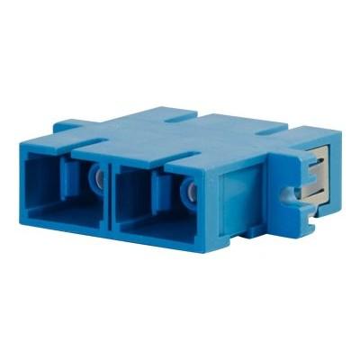 Cables To Go 27111 SC/SC Duplex Single-mode Fiber Coupler - Network coupler - SC single-mode (F) to SC single-mode (F) - fiber optic - black