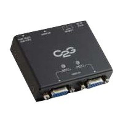 Cables To Go 39900 2-Port VGA Auto Switch - Monitor switch - 2 x VGA - desktop