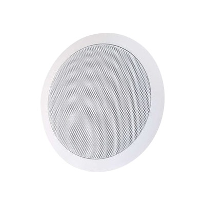 Cables To Go 39904 6in Ceiling - Speaker - 2-way - white