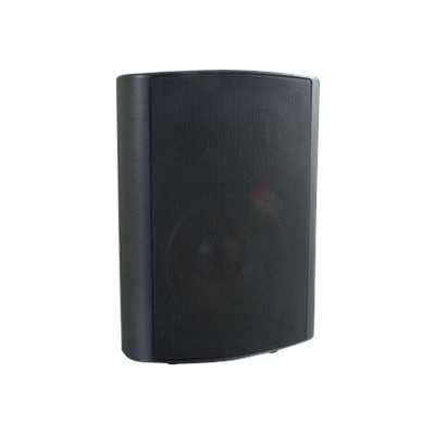 Cables To Go 39905 5in Wall Mount - Speaker - 2-way - black