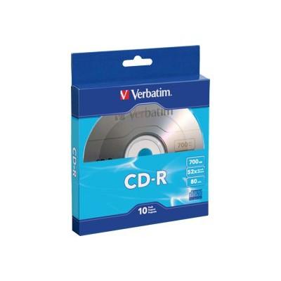Verbatim 97955 10 x CD-R - 700 MB ( 80min ) 52x - blister