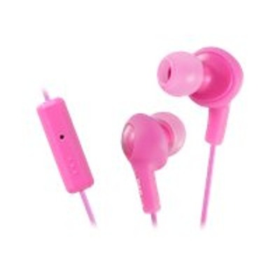 JVC HAFR6P HA-FR6 Gumy PLUS - Headset - in-ear - noise isolating - peach pink - for Apple iPod nano (6G)