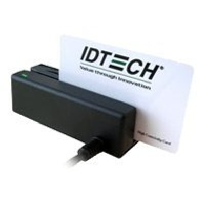 ID TECH IDMB-337112B MiniMag Intelligent Swipe Reader IDMB-3371 - Magnetic card reader ( Tracks 1 & 2 ) - RS-232