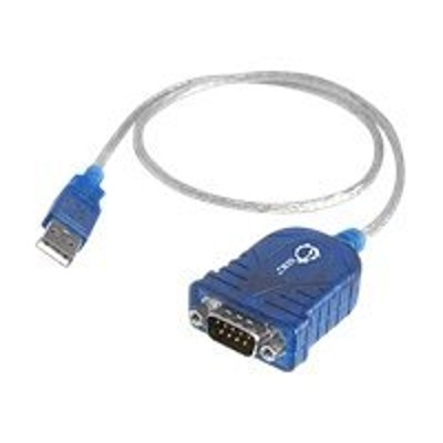 SIIG JU-CS0111-S1 JU-CS0111-S1 - Serial adapter - USB - RS-232 - blue