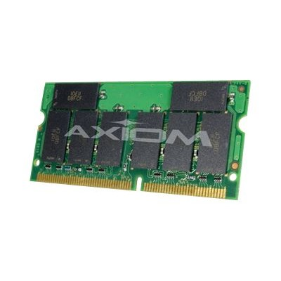 Axiom Memory KTTSO815/256-AX AX - SDRAM - 256 MB - SO-DIMM 144-pin - 133 MHz / PC133 - unbuffered - non-ECC - for Toshiba Satellite 1800  1805  2805  3000  3005