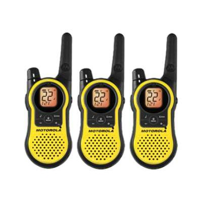 Motorola Mh230tpr Talkabout Mh230r - Portable - Two-way Radio - Frs/gmrs - 22-channel - Yellow ( Pack Of 3 )
