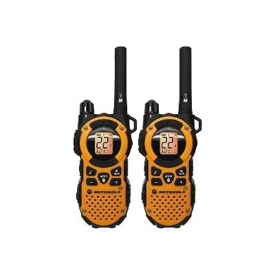 Motorola Mt350r Talkabout Mt350r - Portable - Two-way Radio - Frs/gmrs - 22-channel - Orange ( Pack Of 2 )