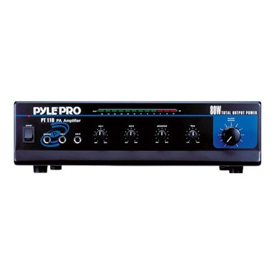 Pyle PT110 PYLEPro PT110 - Mixer amplifier - powered - 4-channel