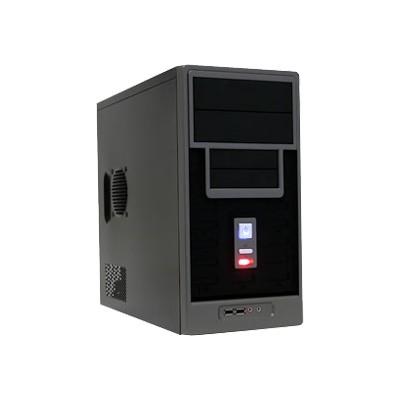 APEX TM-366-BK TM-366-BK - Mid tower - micro ATX 300 Watt ( ATX12V ) - USB/Audio