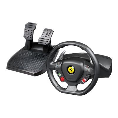 Guillemot 4460094 Ferrari 458 Italia - Wheel and pedals set - wired - for PC  Microsoft Xbox 360